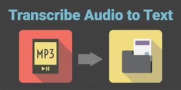 transcribe audio